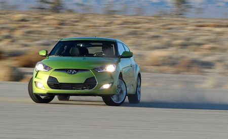 Hyundai Releases Full Pricing for the 2012 Veloster