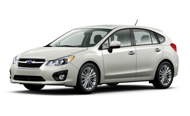 Subaru Releases Pricing for 2012 Impreza; Base-Model Prices Unchanged and Start at $18,245