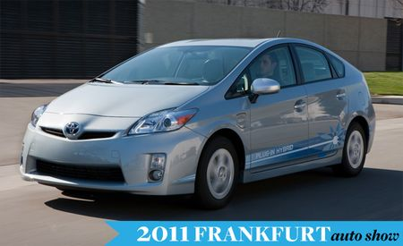 Toyota to Debut Production Prius Plug-In Hybrid at Frankfurt Auto Show