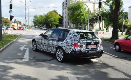 2013 BMW 3-series Sports Wagon Spy Photos