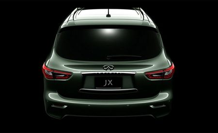 Another Infiniti JX Crossover Teaser