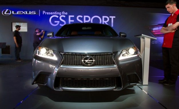 Lexus Teases 2013 GS350 F-Sport and GS Hybrid; Models Will Debut at SEMA and Frankfurt