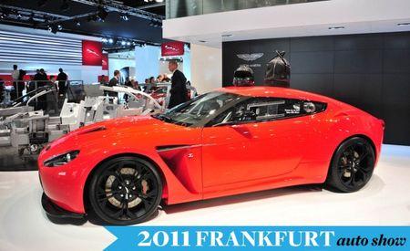 Aston Martin V12 Zagato Hops a Plane to Frankfurt
