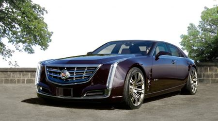 Cadillac Ciel Sedan Rendered: Putting a Top On Caddy's Stunning Droptop Concept