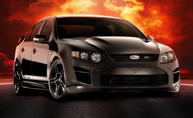 Ford Confirms 449-hp Falcon FPV GT Black Edition for Lucky Australians