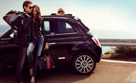 Success of Fiat 500 by Gucci Begets Roofless Fiat 500C by Gucci