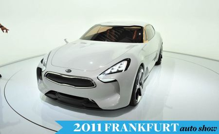 Kia to Show Rear-Drive, Four-Door Sports Sedan Concept at Frankfurt Auto Show