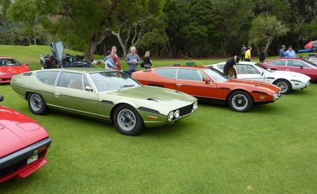 Getting a Vintage Lamborghini to the Pebble Beach Weekend, and Then Getting It Running