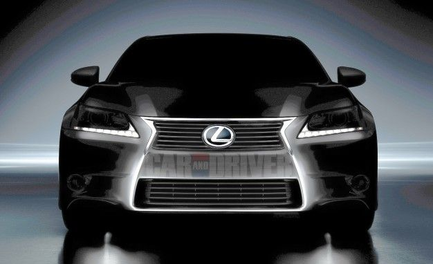Lexus Releases Shadowy Picture of 2012 GS350, We Add Light