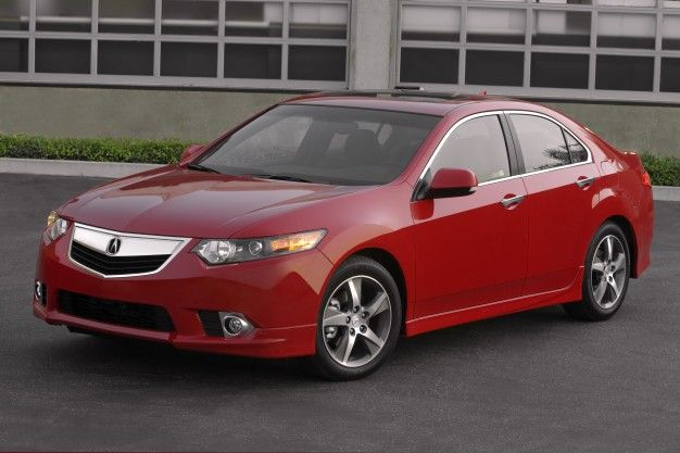 Acura Introduces 2012 TSX Special Edition, Gives It Wheels and Red Stitching