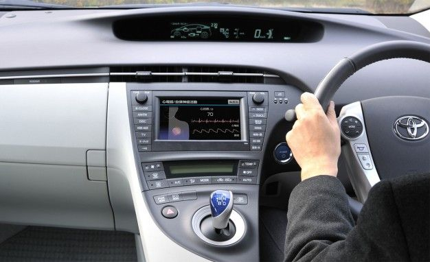 Toyota Previews Its Next-Generation Safety Systems, Including a Cardiovascular Monitor