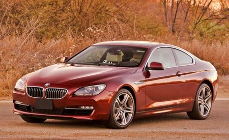 Six-Cylinder 2012 BMW 640i Coupe Priced from $74,475, Convertible from $81,975
