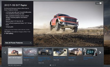 2012 Ford F-150 SVT Raptor Gets New Limited-Slip Front Diff and Front Camera