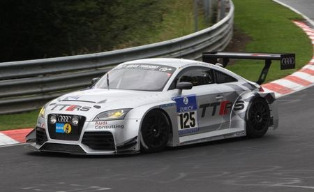 Front-Drive Audi TT RS Race Car Now Available to Order from Audi Sport Customer Racing