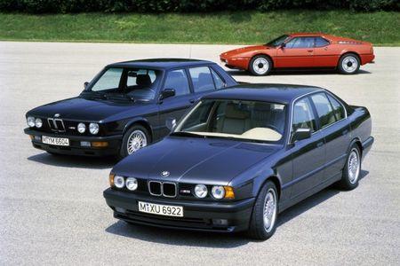 BMW M5, E28 through F10: A History of Supremacy