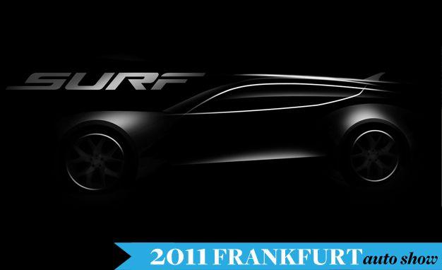 Fisker Releases Teaser of Frankfurt-Bound Surf Hatchback