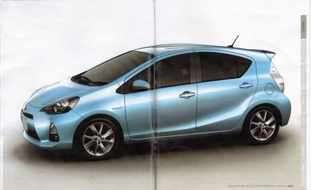 Leaked Toyota Prius C Brochure Reveals Styling, Mechanical Details for the Smallest Prius