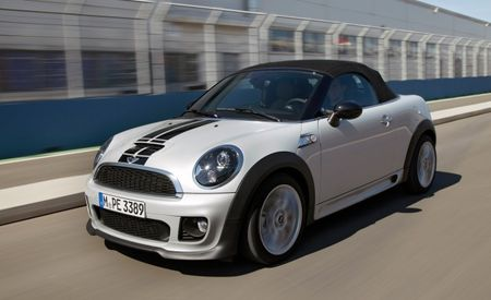 2012 Mini Cooper Roadster Priced: Base, $25,050; Cooper S, $28,050; JCW, $35,200