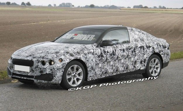 Spied: 2013 BMW 3-series/4-series Coupe