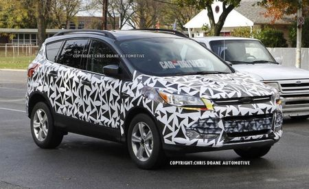 2013 Ford Escape Spied With Minimal Camo Prior to L.A. Debut