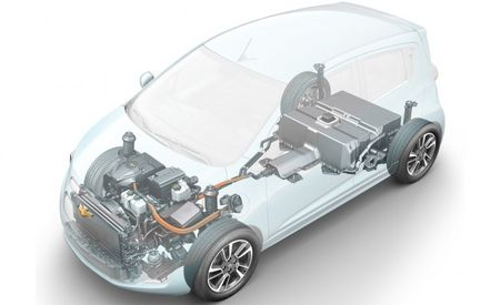 2014 Chevrolet Spark EV to Have 114 HP, 31 More than Gas Model