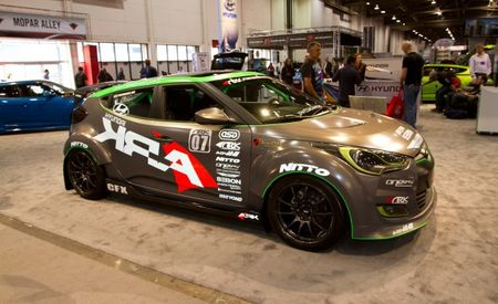 Hyundai and ARK Performance Boost the Veloster for SEMA
