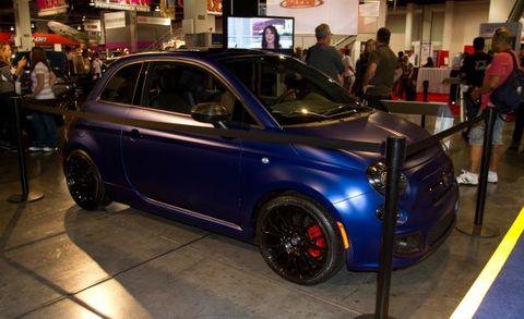Fiat 500 Carbon And Titanium Concepts Head To Sema