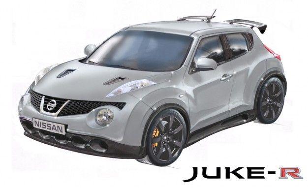 Nissan Europe Stuffs GT-R Running Gear into Juke to Create Wonderfully Insane Juke-R