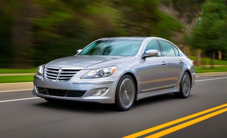 Hyundai Dropping 4.6-Liter V8 From 2013 Genesis Sedan; 5.0-Liter V8, V6 Remain