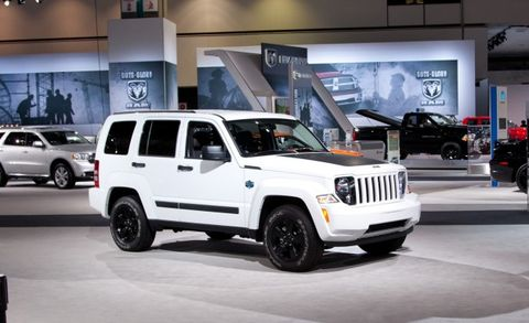 2012 jeep wrangler and liberty arctic special editions mush out of