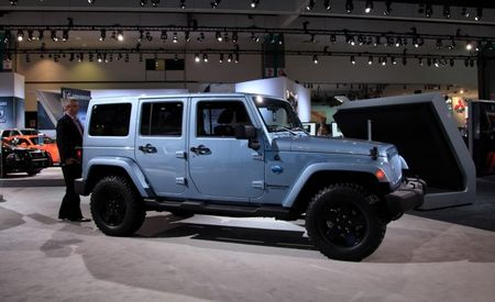 2012 Jeep Wrangler and Liberty Arctic Special Editions Mush Out of the Snow and into Showrooms