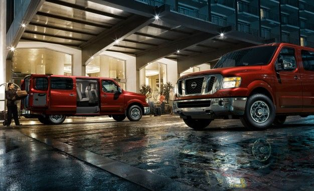 Nissan Reveals 2012 NV3500 HD Passenger Van; It Carries Up to 12 in Slightly Less Heinous Style