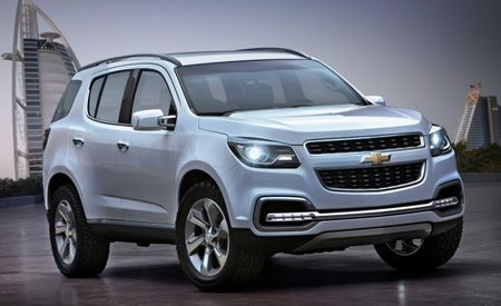 2013 Chevrolet TrailBlazer Concept Debuts in Dubai (And No, We Won't Get It)