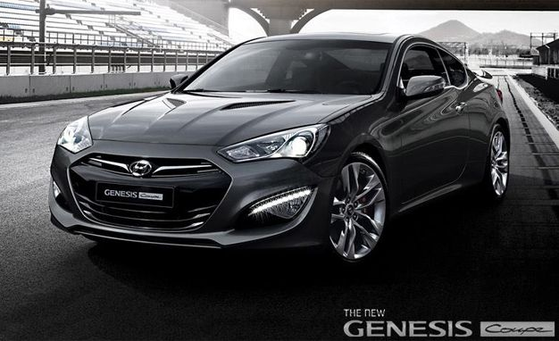 Peek-a-Boo: Hyundai Posts Full Images of 2013 Genesis Coupe on Facebook