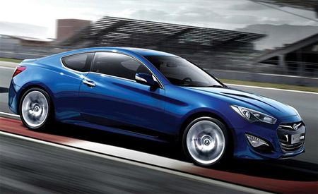 Face-Lifted 2013 Hyundai Genesis Coupe: 271-hp Four, 345-hp V6, Eight-Speed Auto
