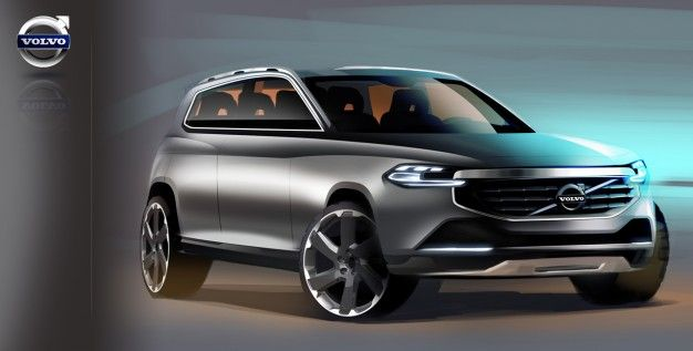 Volvo Shows Four Possible Design Directions for Next-Gen XC90