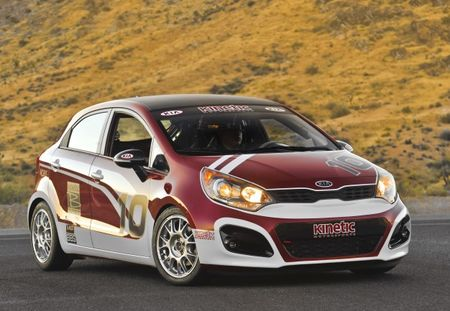 Kia Gets in on Showroom Stock Racing with New 2012 Rio5 B-Spec Race Kit