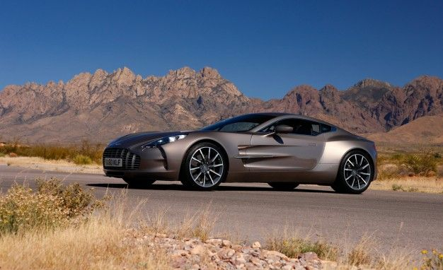 Fashionably Late: Aston Martin One-77 Appears at the L.A. Auto Show