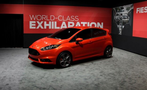 Ford Bringing Five-Door Fiesta ST Concept to L.A. Auto Show
