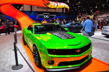 Hot Wheels Chevrolet Camaro Concept: SEMA's Biggest Toy