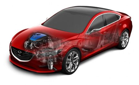 Mazda Introduces i-ELOOP Capacitor-Based Regenerative Braking System