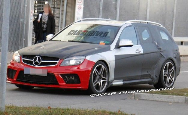 Spied: Mercedes-Benz C63 AMG Estate Black Series Expands Black Portfolio, Tugs at Our Heartstrings