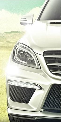 Mercedes-Benz Posts Peek at L.A.-Bound 2012 ML63 AMG on Facebook