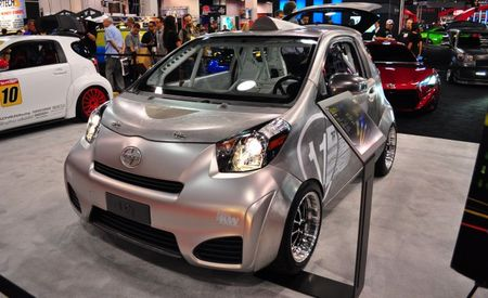Nekkid Scion With Junk in the Trunk is an iQ We Can Dig