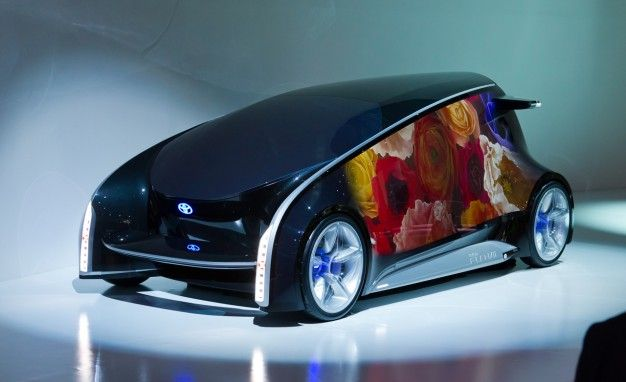 Toyota Fun-Vii Concept Debuts in Tokyo, Looks Like a Rolling Electronic Nose