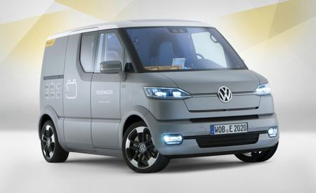 Volkswagen eT! Concept Theorizes a New Way to Haul the Mail