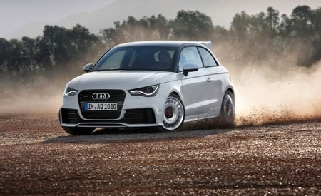 Audi Unveils Limited-Production 256-HP 2012 A1 Quattro