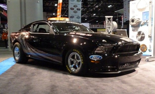 Ford Racing Announces 2013 Mustang Cobra Jet Drag Racer, Only 50 to ...