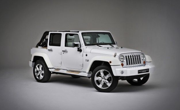 Jeep Wrangler Nautic Concepts: Twin Tenders for Power Yachts and Sailboats