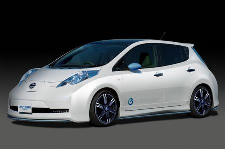 The Nissan Leaf Gets NISMO-fied in Tokyo Show Concept